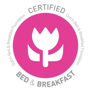 Bed-and-breakfast-certificatie-schild